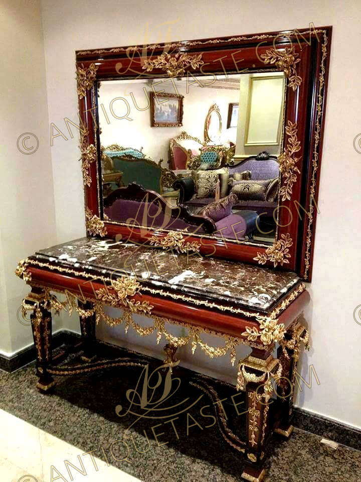 A Stately And Imposing Louis Xiv Neoclassical Style Gilt