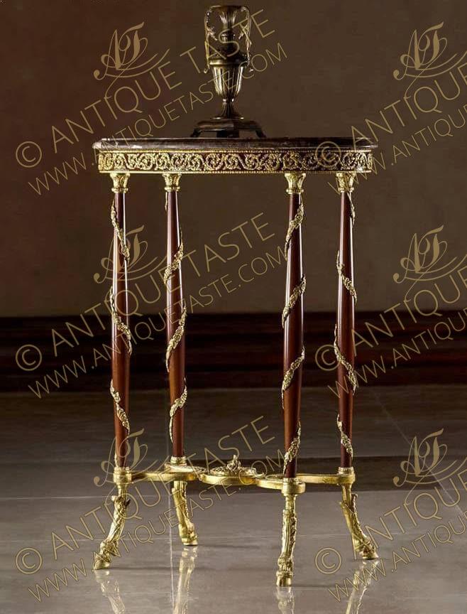 louis xvi hoof table - Sumptuous French Antique Furniture Reproductions Antique Taste