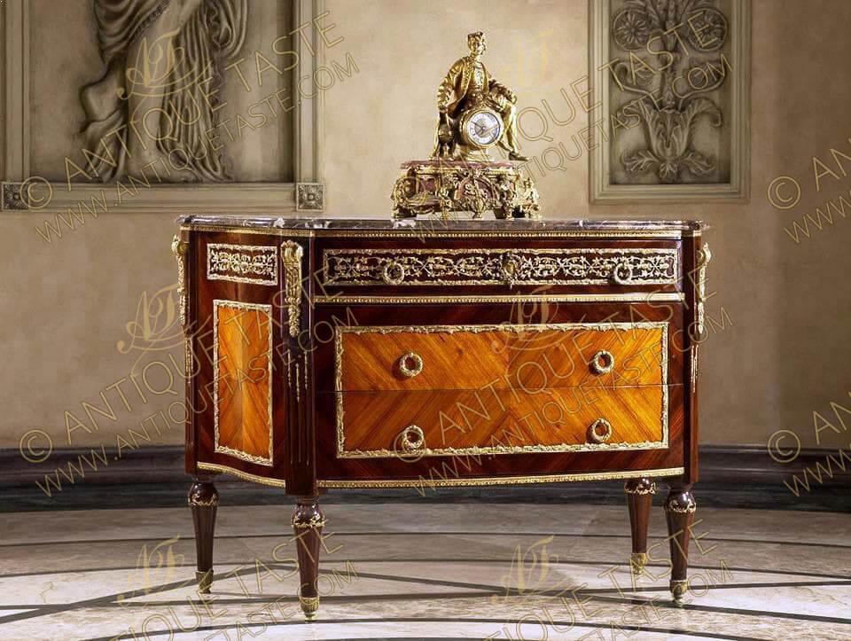 Sumptuous French Antique Furniture Reproductions Antique Taste