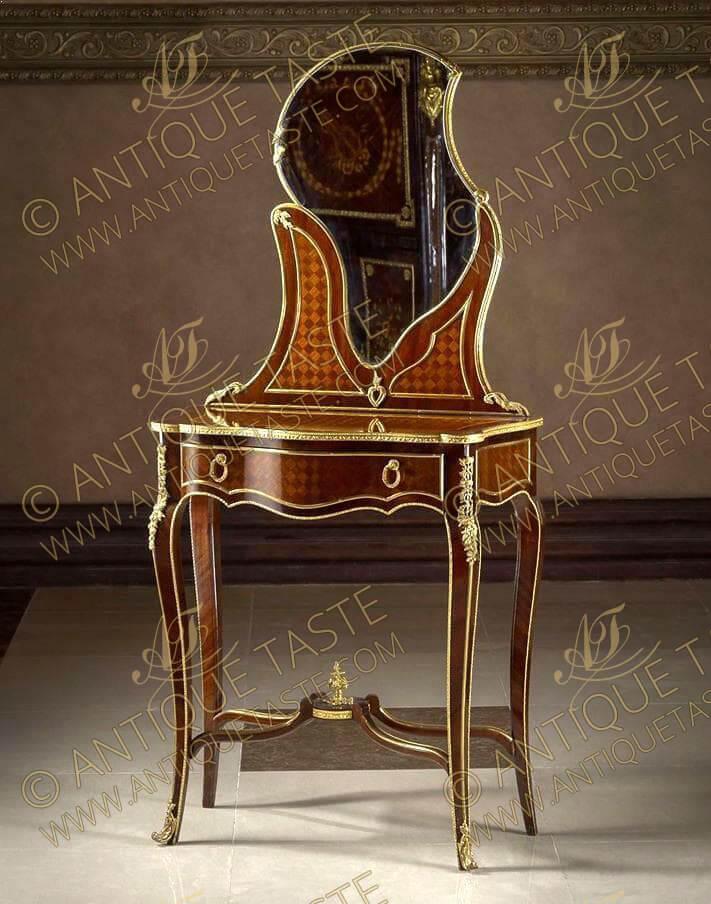 francois linke dresser - Sumptuous French Antique Furniture Reproductions Antique Taste