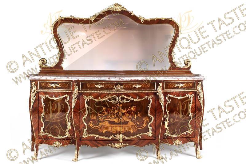 Fine Antique Taste Luxurious Antique Style Dining Room Theyellowbook Wood Chair Design Ideas Theyellowbookinfo