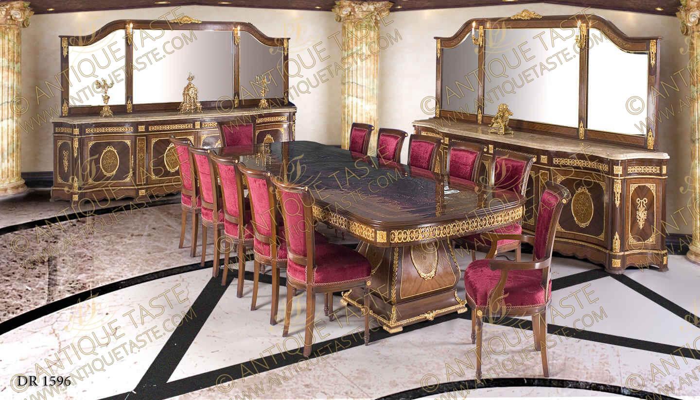 Antique Taste Luxurious Antique Style Dining Room