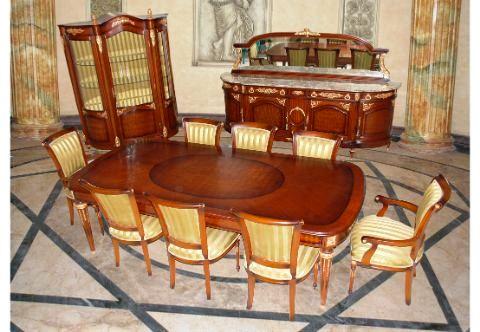 French Style Ormolu Mounted Dining Room Francois Linke Set Martin Carlin