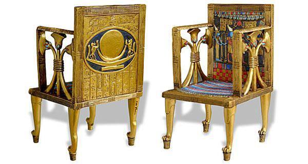Antique Taste Egypt Pharaonic Furniture Historical View