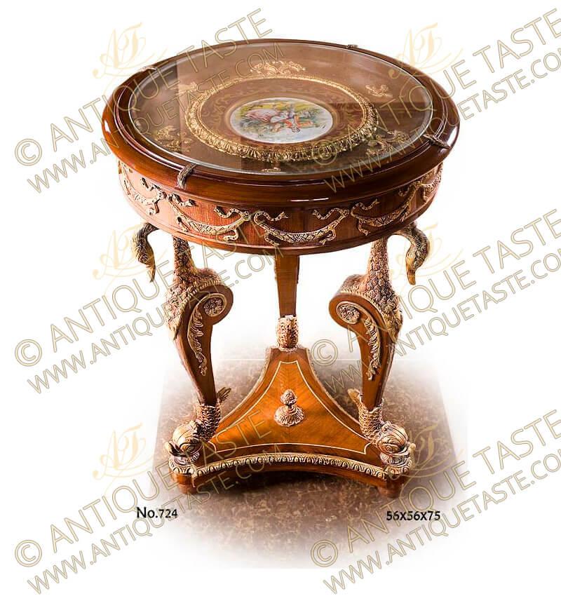 Napoleon Second Empire Style gilt-ormolu-mounted porcelain